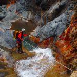 où pratiquer la descente de canyon