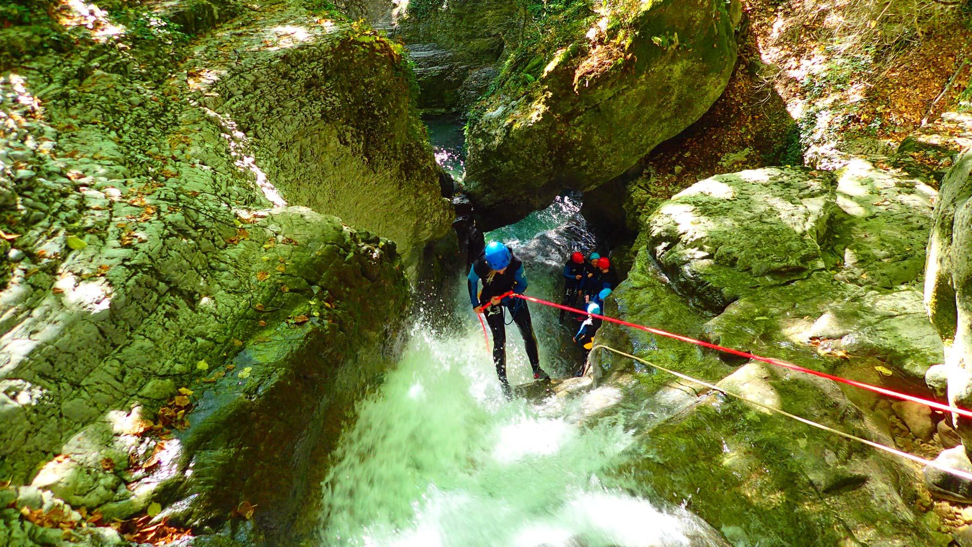 canyoning-furon-partie-basse-vercors-decouverte-1