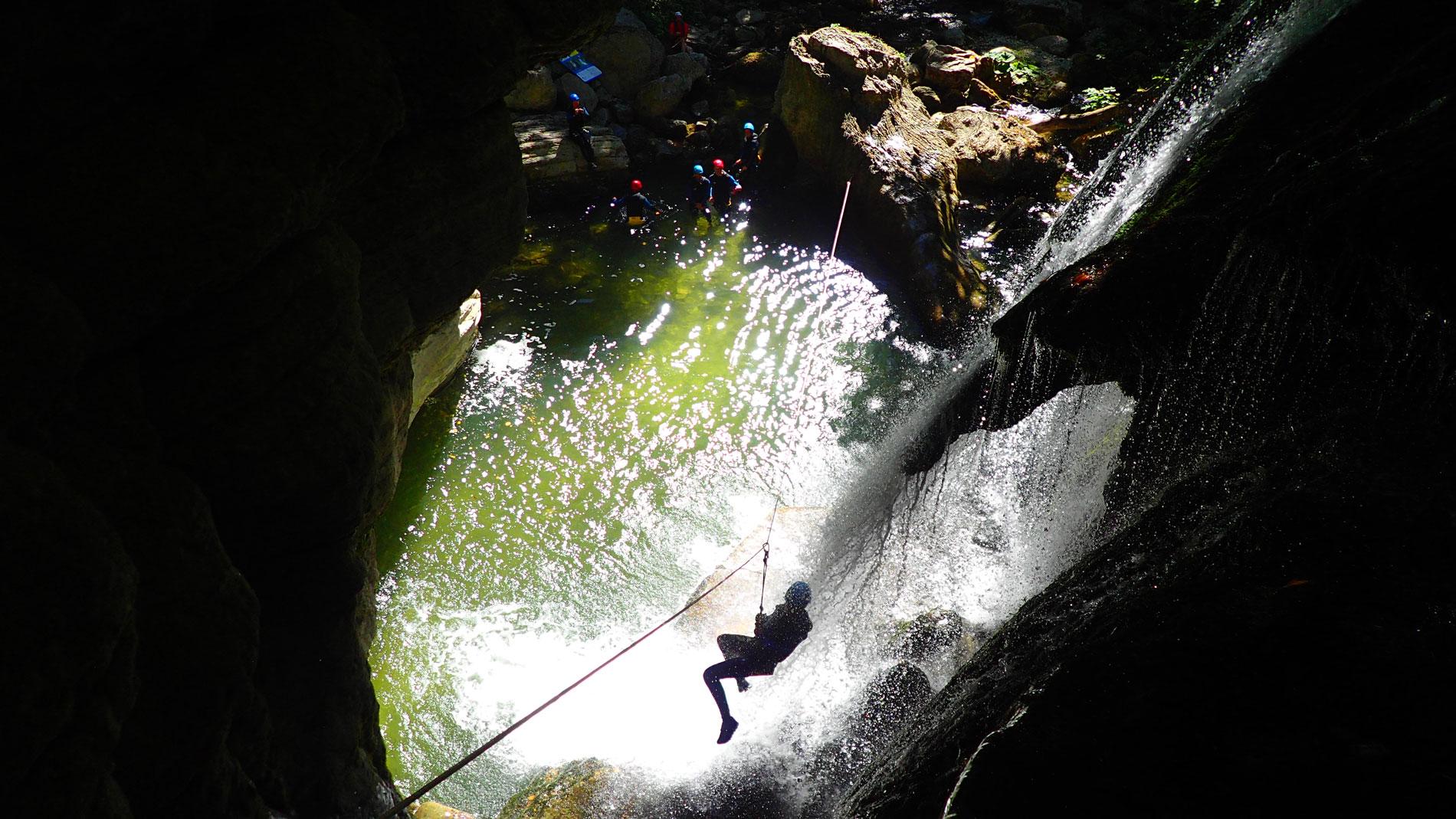 canyoning-furon-partie-basse-vercors-decouverte-4