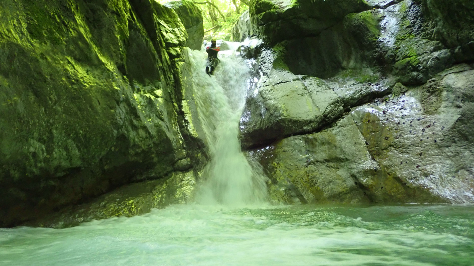 Canyoning-Evasion Canyon du Terneze Massif des Bauges