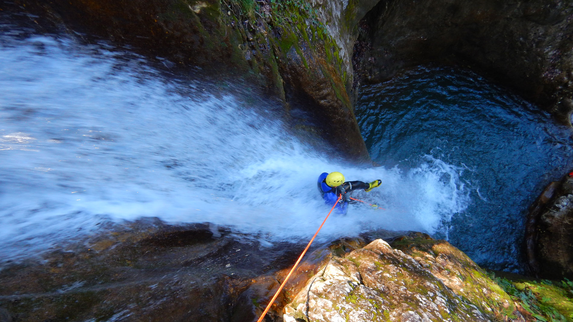 canyoning versoud vercors
