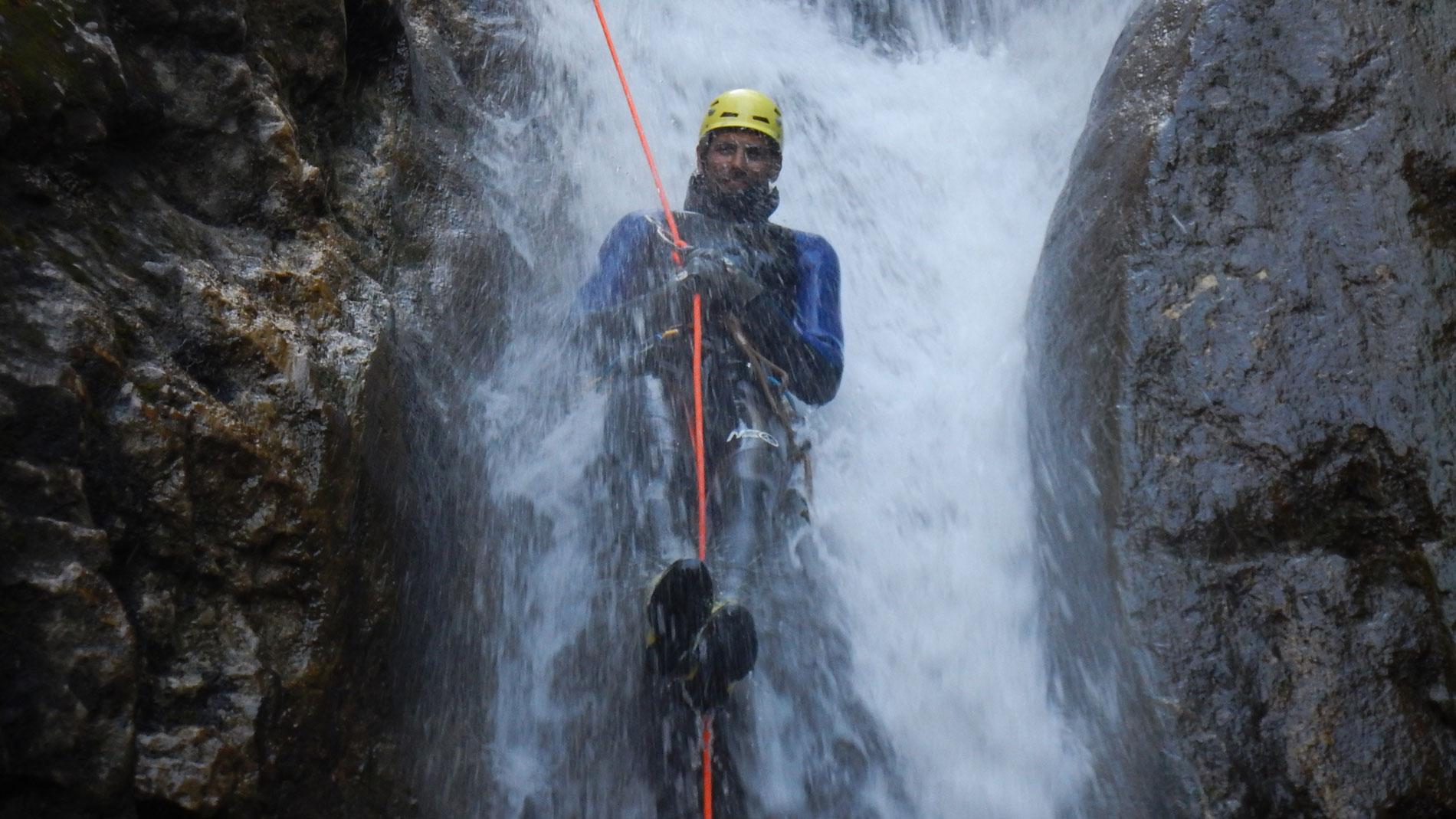 Canyoning-Evasion Canyon du Versoud Massif du vercors