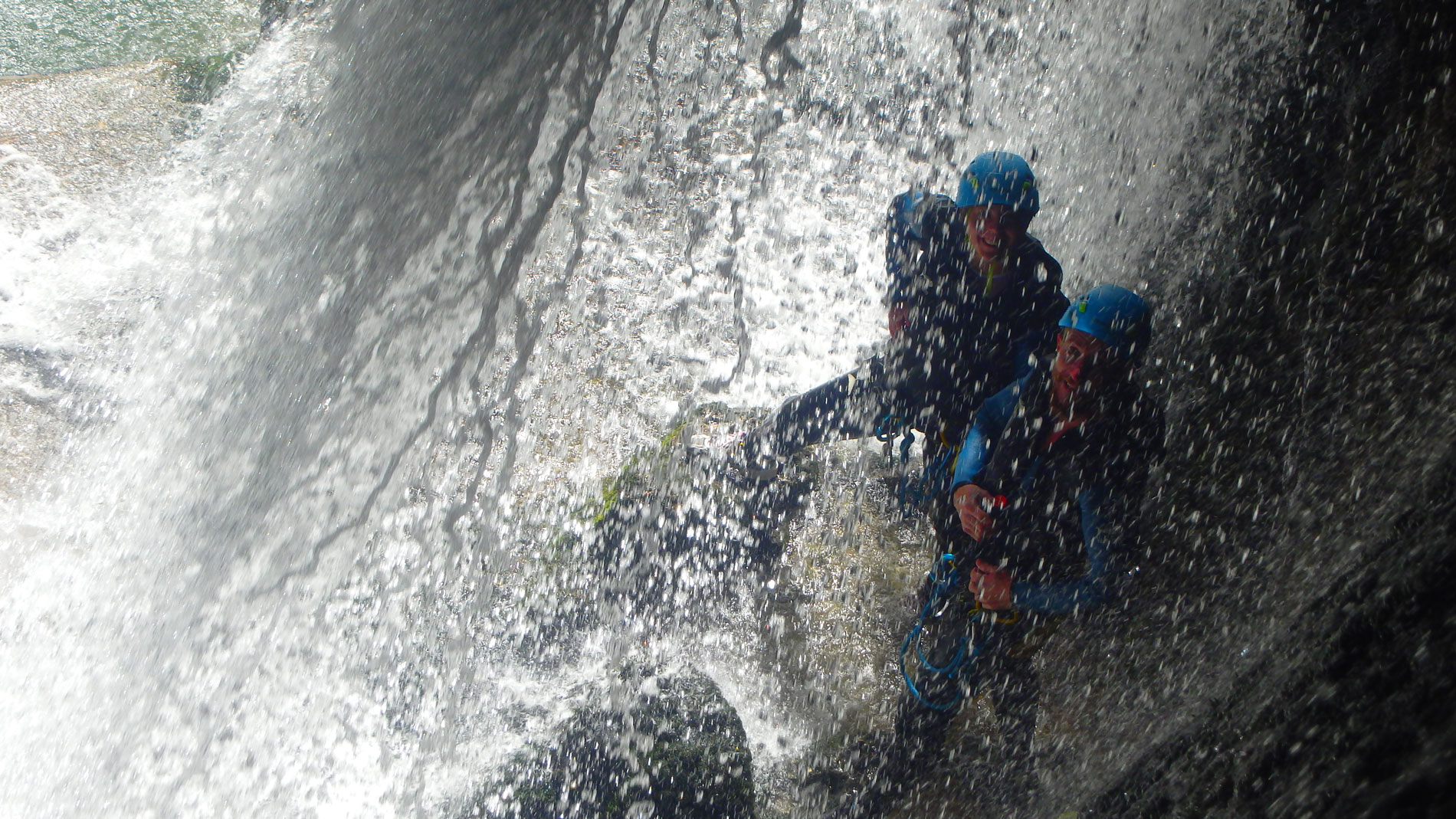 Canyoning-Evasion Canyon du furon partie basse Massif du vercors
