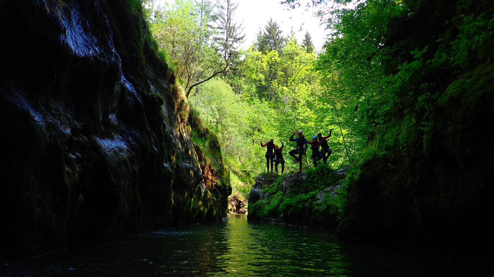 canyoning-pont-du-diable-bauges-decouverte-4