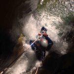 Canyoning-Evasion Canyon des Moules marinières Massif du Vercors