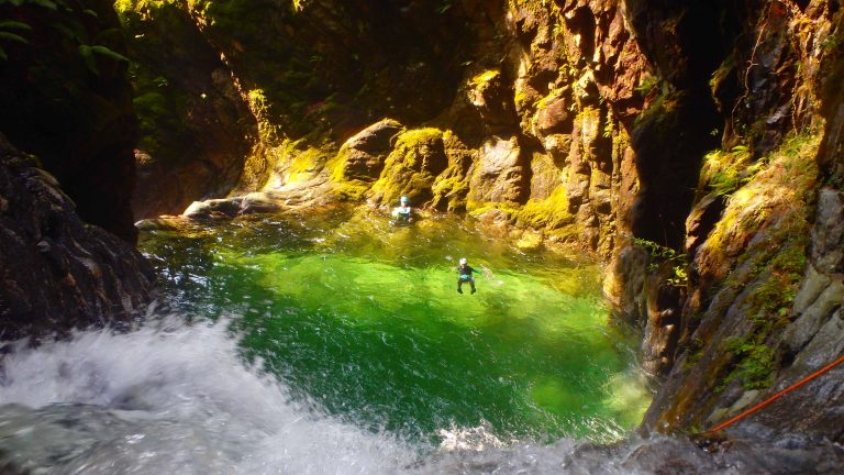 Stage Canyoning Tessin ( Suisse-Italie)