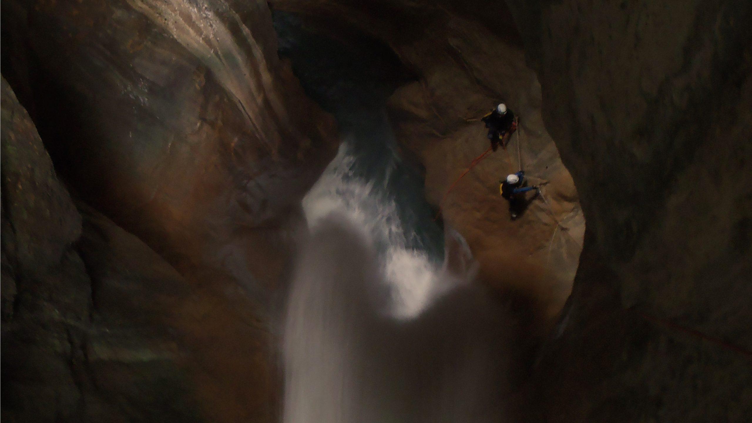 Canyoning-Evasion Canyon de l'Infernet Massif de la Chartreuse