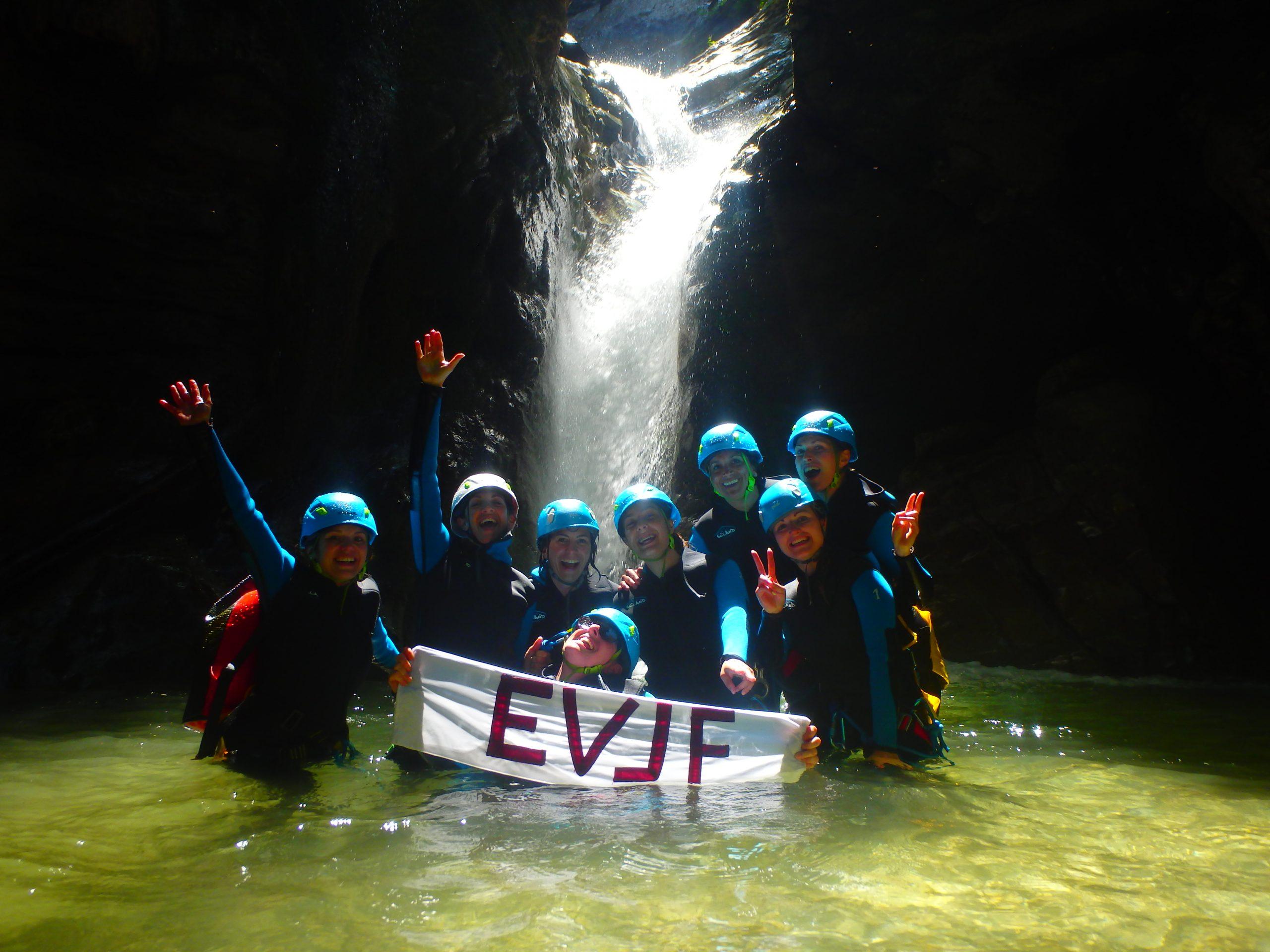 Canyoning-Evasion EVG-EVJF