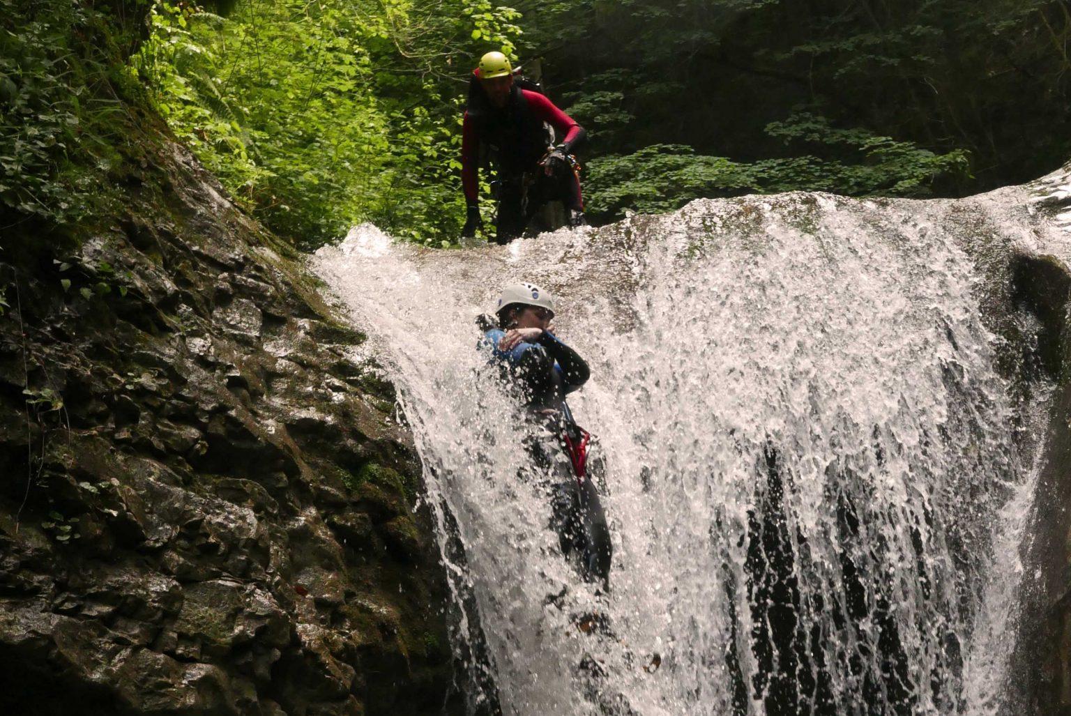 Canyoning-Evasion Canyon des Ecouges partie basse Massif du Vercors
